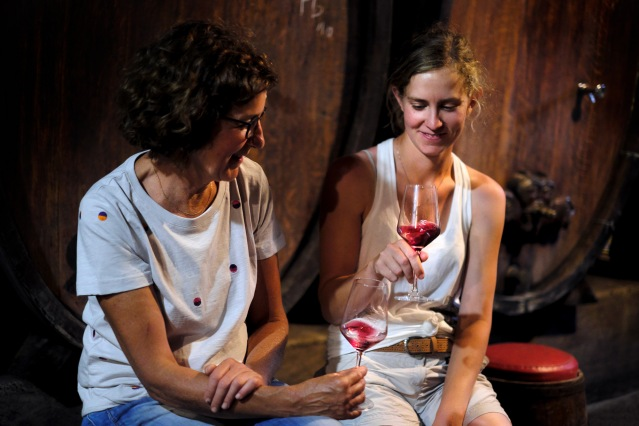 vignification vin alsace par des femmes